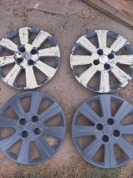 Vendo 4 tazas de rueda rodado 15 de Chevrolet