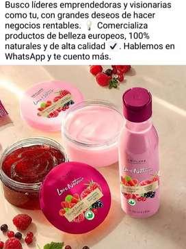 Hermoso maquillajes productos Europeos