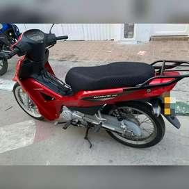 Vendo moto honda Wave 110 modelo 2014 de palmira lista para traspaso