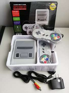 Mini Consola Retro Super Family Más De 500 Juegos Clásicos!