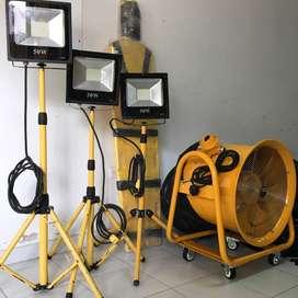 Extractor de Aire industrial para espacio confinadodo