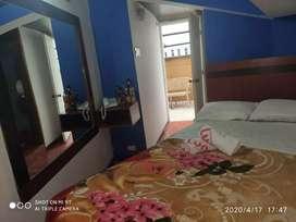 Habitaciones amobladas , alquiler de cuartos x mes