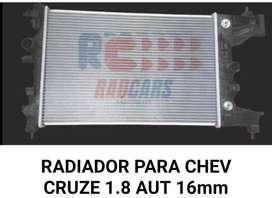 RADIADOR DE CHEVROLET CRUZE COLOMBIANO AUT