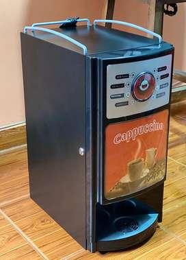 Maquina capuccino cafe