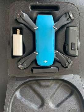 Drone dji spark azul 12mp 4K. Gps WIFI, sensor gestual como nuevo poco uso