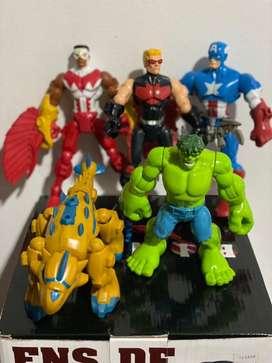 Vendo Hasbro Marvel Super Hero Mashers