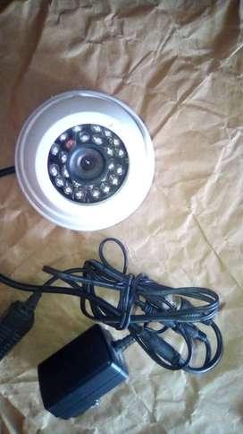 Camara de vigilancia tipo domo inflaroja