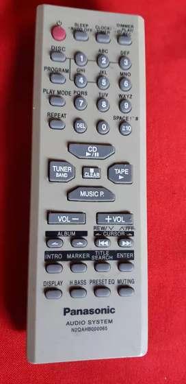 Control remoto Panasonic N2QAHB000065 audio system