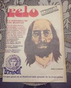 De colección. Revista Pelo Nro 10. 1970