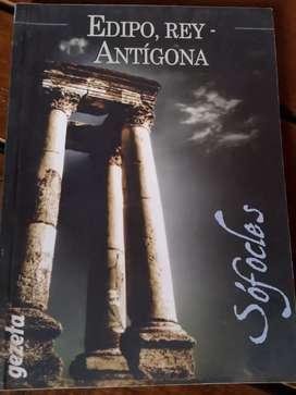 Edipo Rey. Antigona