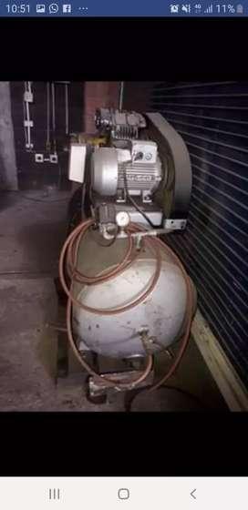 Compresor 150 libras, motor SIEMENS