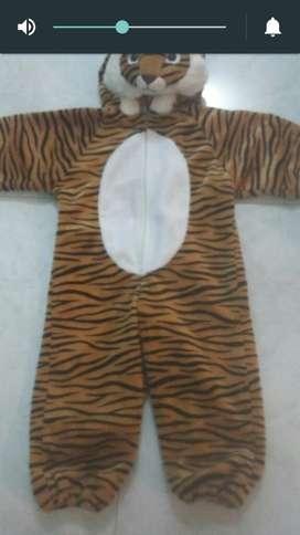 Disfraz de Tigre Americano Par Niño