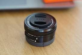 Lente Sony 16-50mm F/3.5 - 5.6 Oss Montura tipo-E.