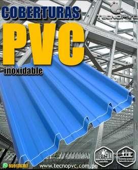 Coberturas de Pvc Industriales de 2mm