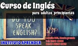 CURSO DE INGLES PARA ADULTOS PRINCIPIANTES EN MONTE GRANDE