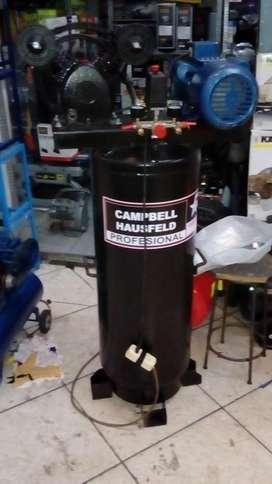 Compresora de Aire 2 hp Doble Piston 120psi 30 Galones 100 Litros