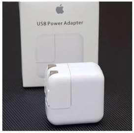 Cargador Iphone Apple Original 12w Carga rapida Iphone X Ipad Ipad Air Iphone 8 plus Iphone 7 Iphone 5s Ipod