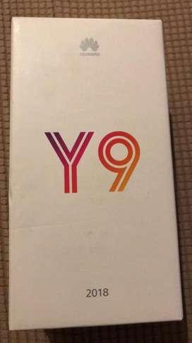 Huawei Y9 2018 Perfecto Estado!!