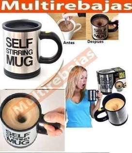 Taza Vaso Batidora Mezcladora Cafe Bebidas Stirring Mug
