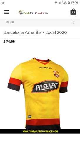 Camiseta de Barcelona original año 2020, nueva de paquete