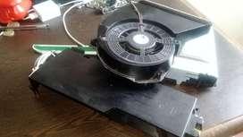 Fuente de poder , avanico disipador y unidad de dvd para play 3 slim