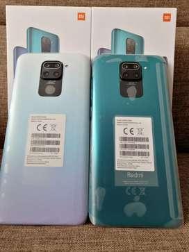Xiaomi note 9 de 128 gigas nuevo un año de garantía aceptó cambios
