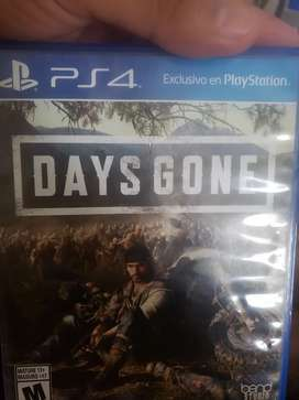 Juego de ps4 DAYS GONE ps4