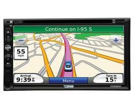 "Remate: Pantalla/DVD DS18 con GPS DD695NV BT 6.95"" 2DIN"