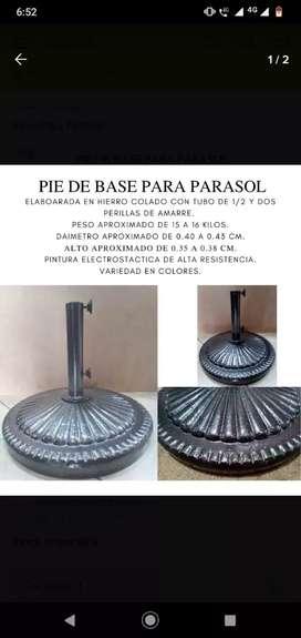 Base para parasol
