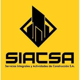 Albañil, pintor, obrero con certificado en riesgos laborales avalado por senescyt