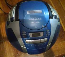 Radio grabador reproductor cd