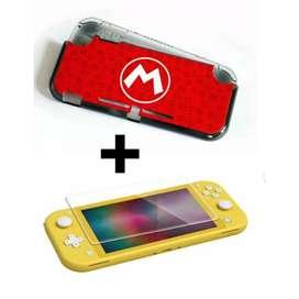 Acrílico Protector Nintendo Switch Lite + Vidrio Protector