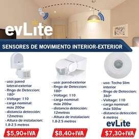sensores de movimiento/encendido automatico de luces/ sensores para luces