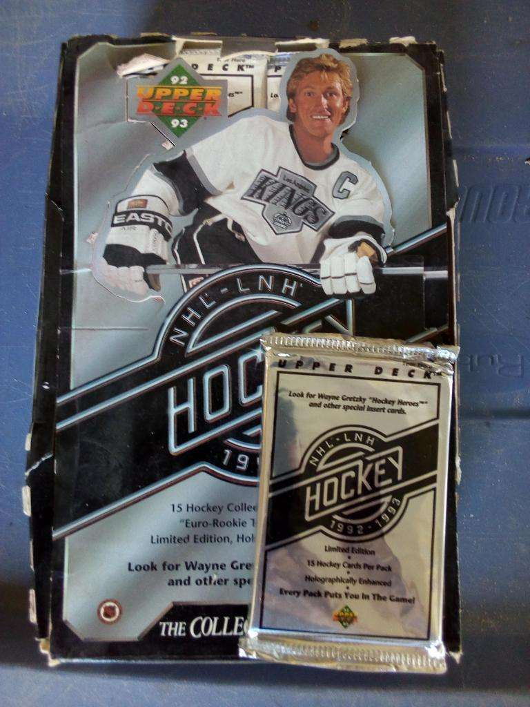 1992 Paquetes de Hockey de Cubierta Supe 0