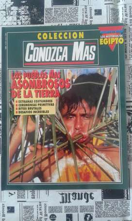 Revista Conozca Mas Colección Año 1994 Los Pueblos Mas Asombrosos De La Tierra