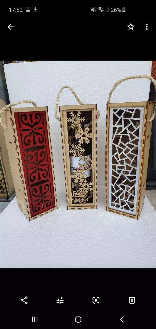 Cajas personalizadas para botellas