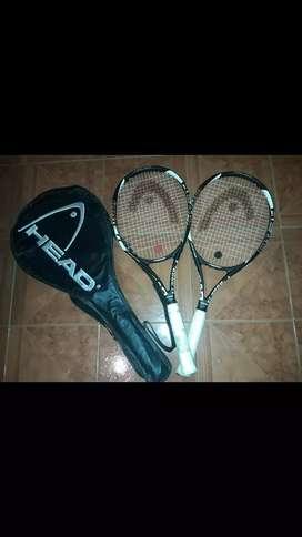 Raquetas head titanium 3000