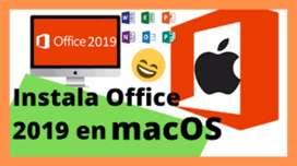 Venta, instalacion, configuracion de Microsoft Office 2016, 2019 para Windows, Mac OS Catalina OS, High Mountain Sierra.