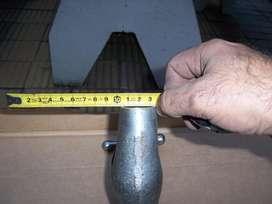 llave de paso para plomo nueva de 1 1/4 o1 1/2