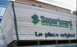 SUPERBOARD, DRYWALL Y CIELO RASOS