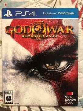 Juego PS4 nuevo GOD OF WAR 3