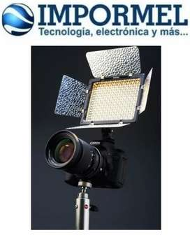 Luz Led Yongnuo Yn300 Ii Proled Video Canon Nikon Sony