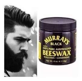 Cera Para Cabello Negro Barba Mur