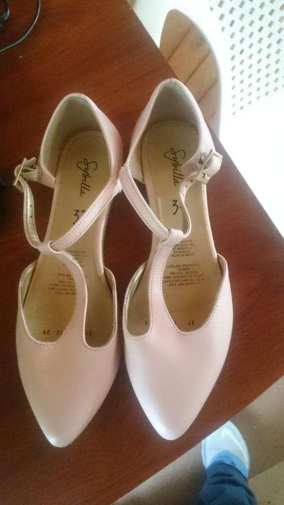 zapato, baleta rosado  37 0
