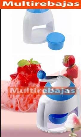 Maquina para hacer granizado pica hielo frappes raspa hielo