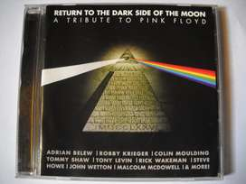 tribute to pink floyd return the side of the moon cd como nuevo