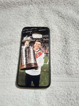 Vendo funda de celular Samsung de afuera con foto