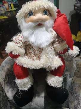 Muñeco de navidad papa noel