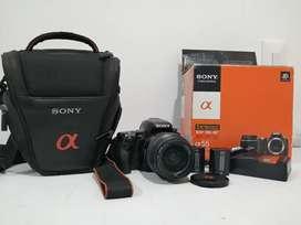 Vendo Cámara Sony Alpha 55