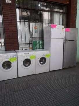 Heladeras y lavarropas  desde 20.000 en adelante